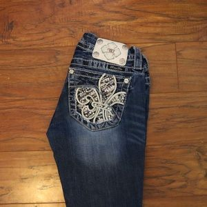 Miss Me Size 24 BootCut Jeans